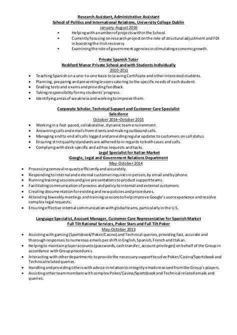 Automation Specialist Cover Letter by Cover Letter For Salesforce