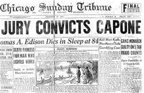 research paper on al capone organized crime in the 1920s research papers