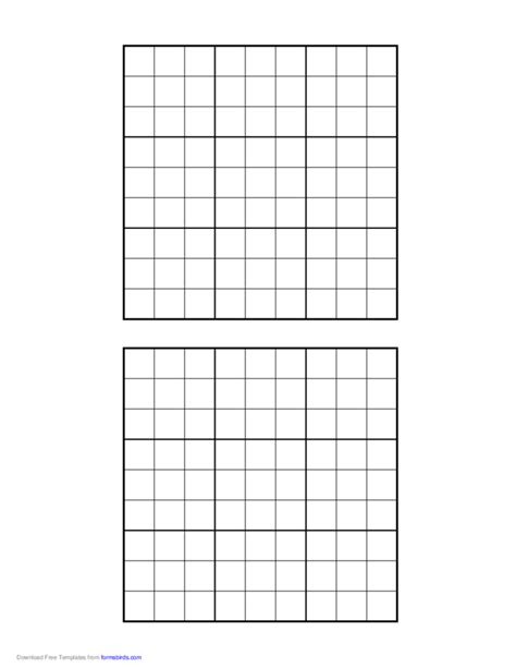 printable sudoku graphs sudoku grid free download