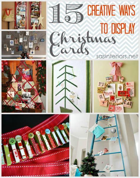 christmas card display 15 creative ways to display christmas cards jenna burger