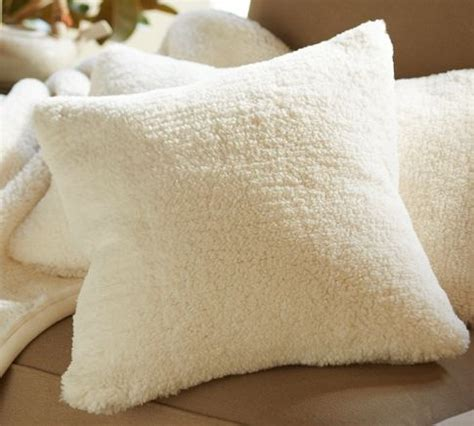 Faux Sheepskin Pillow Cover by 17 Best Images About William And Sonoma Pottery Barn On