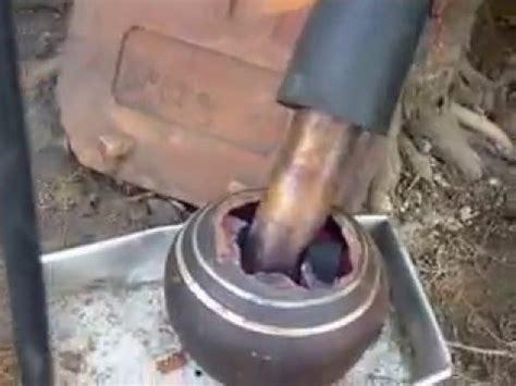 Mesin Uap cara membuat mesin uap kecil pakai arang