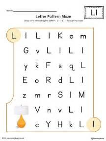 color with l learning the letter l worksheet color