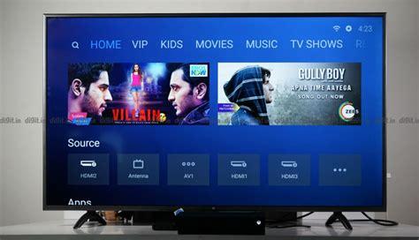xiaomi mi led tv  pro  review digitin