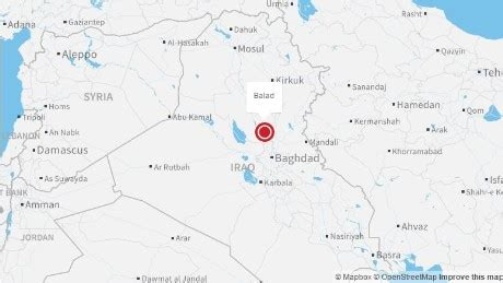 balad iraq map claims more iraq attacks killing 20 cnn