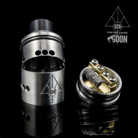 Goon V1 5 24 Rda Atomizer Gold Clone Vp02521 1 stainless steel 528 custom vapes peek insulators goon rda