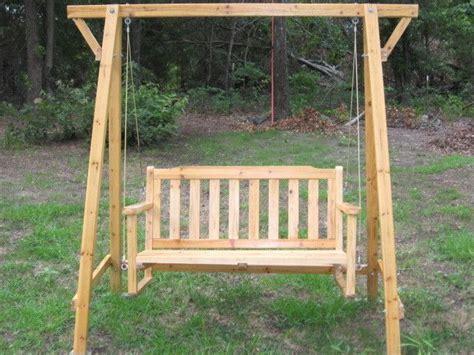 cheap wooden porch swings wooden swing for the porch or yard