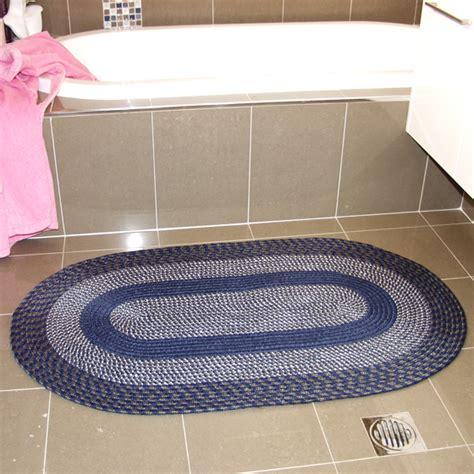 3 braided rug sets health pride braided rugs set of 3 in blue