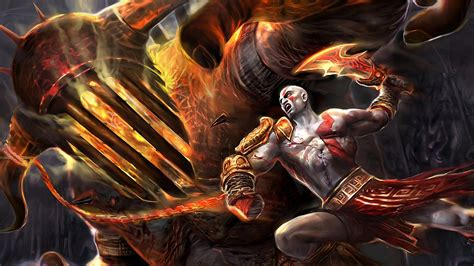 Imagenes De Kratos Wallpaper | fondo de pantalla kratos god of war 3 hd