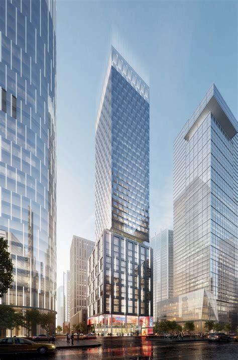 10 Hudson Square New York 42 Floors - new york 450 11th ave 487 ft 42 floors proposed