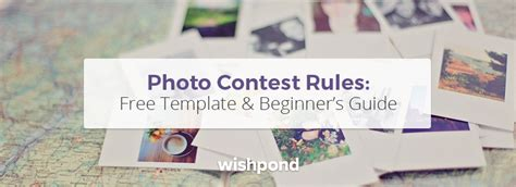 Photo Contest Rules Free Template And Beginner S Guide Photo Contest Website Template
