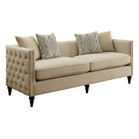 new sofa infini furnishings new rochelle sofa and loveseat set