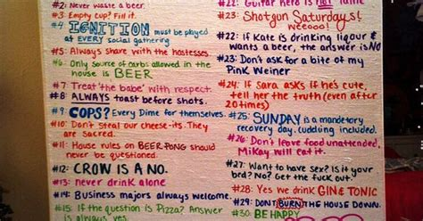 house party rules college party rules softball house pinterest party rules college parties and