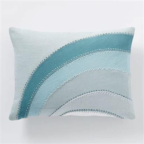 Applique Pillow by Coyuchi Applique Pillow Cover West Elm