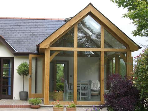 How Much For A Sunroom Extension cottage oak oak framed structures garages extensions sun rooms carmarthenshire south wales