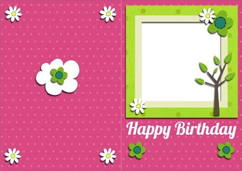 One Direction Birthday Card Template by Top 5 Free Birthday Card Templates Word Templates Excel