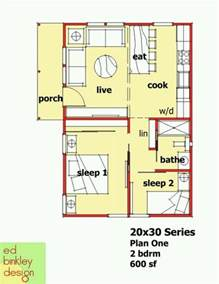 House Plans 600 Sq Ft by Ed Binkley Design 600 Sq Ft Home Floor Plans