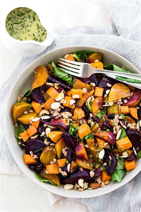vegetables or salad hearty vegetable salad