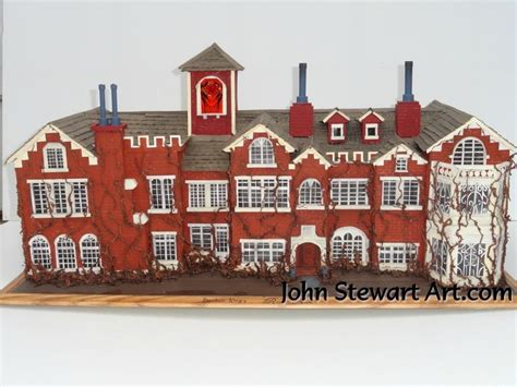 Rose Red House Scale Miniature For Sale By Johnstewartart On Deviantart