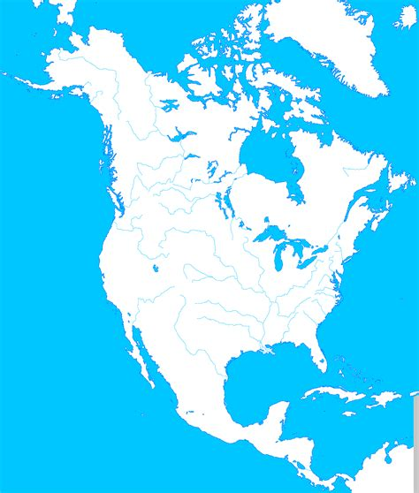 blank world map rivers and mountains blank map directory all of north america alternatehistory