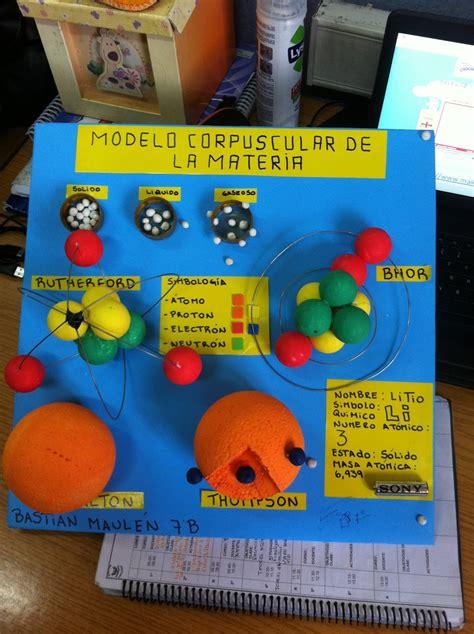 como construir una maqueta de un atomo de aluminio modelo atomico de thomson maqueta www pixshark com