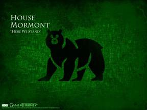 of thrones house mormont wallpaper high definition
