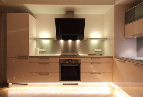 kitchen under cabinet lighting residential led strip lighting projects from flexfire leds