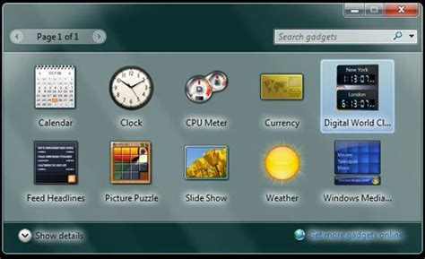 clock themes for pc windows 7 world clock windows 7 desktop gadget getear