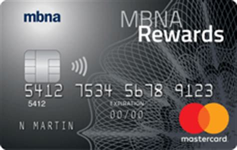 Mba Credit Card Login by Mbna