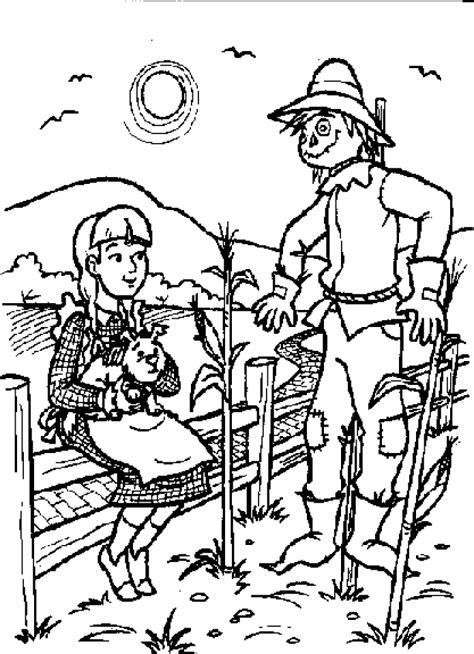 Get This Easy Preschool Printable Of Wizard Of Oz Coloring Wizard Of Oz Printable Coloring Pages