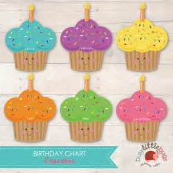 Printable Birthday Chart Template by Free Printable Birthday Chart Cupcake Calendar Template 2016