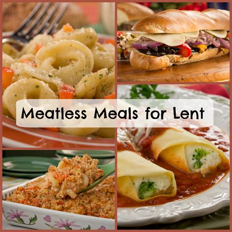 meatless meals for lent top 14 recipes mrfood com