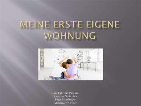 Meine Erste Eigene Wohnung презентация онлайн