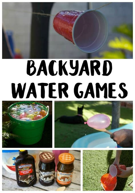 backyard water birthday party 5 backyard water games ideas not quite susie homemaker