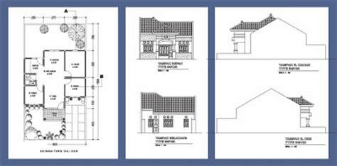 layout rumah type 54 denah rumah type 54 120 desain rumah