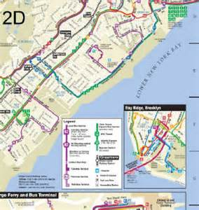 Via Bus Route Map by S51 Bay Street Father Capodanno Boulevard