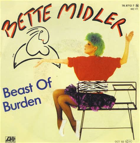 bette midler beast of burden with mick jagger leave it to beaverhausen january 2012