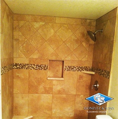 mesa az ceramic shower and floor tile design g s flooring installation design