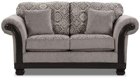 Hazel Chenille Sofa Grey The Brick Grey Chenille Sofa