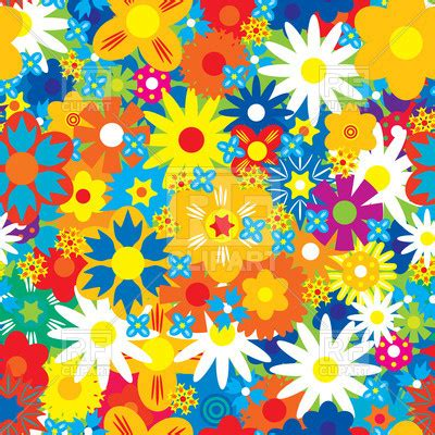 background clipart bright colorful floral background vector image of