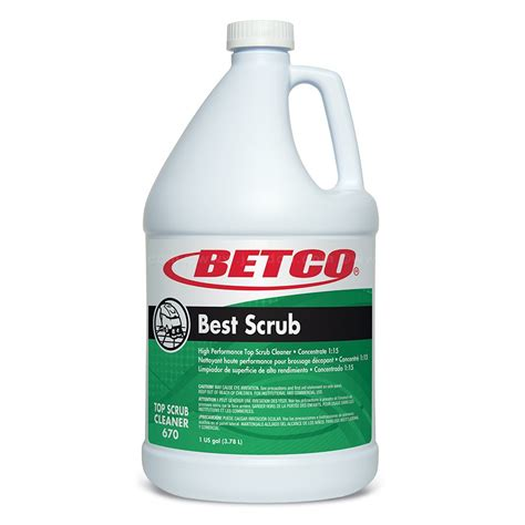 betco best scrub high performance floor cleaner jon don