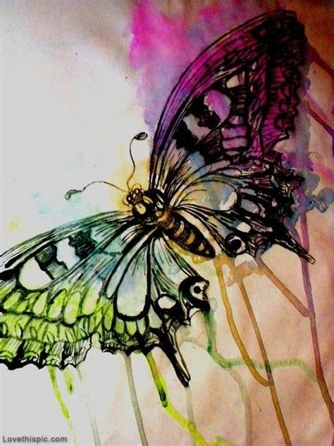 watercolor tattoo upkeep watercolor butterfly inked inspiration