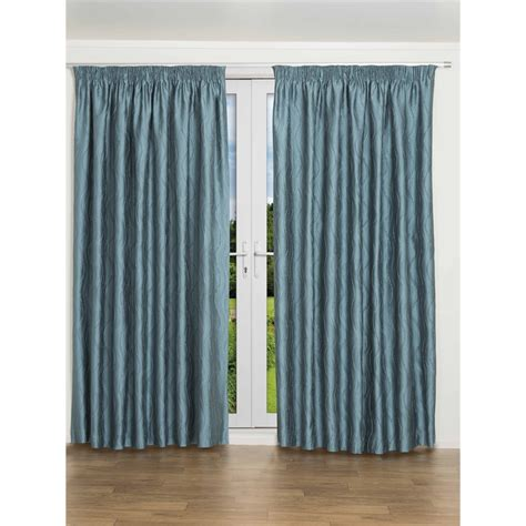 curtains 94 inch drop home profile orbit 2 5 3 25m x 2 20m drop curtain teal