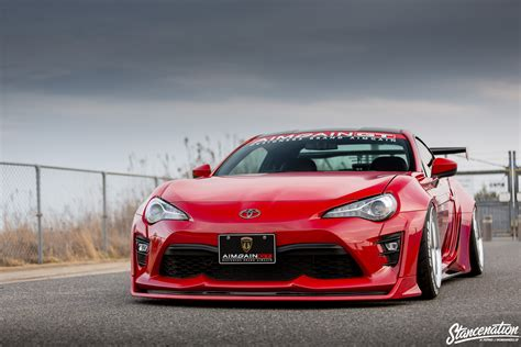stancenation subaru brz stancenation x aimgain type 2 collaboration aero toyota