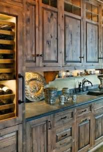 1000 ideas about rustic kitchen cabinets on pinterest