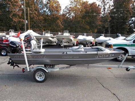 jon boats for sale in north carolina alumacraft boats for sale in north carolina