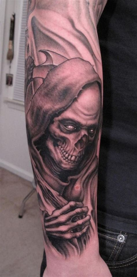 great ideas of grim reaper tattoo designs grim reaper