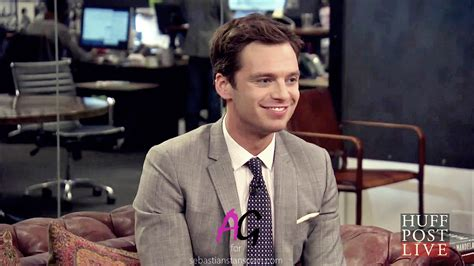 sebastian stan tv screenshots sebastian stan interview with huffpost live