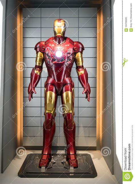 iron man suit armor mark iii editorial image image