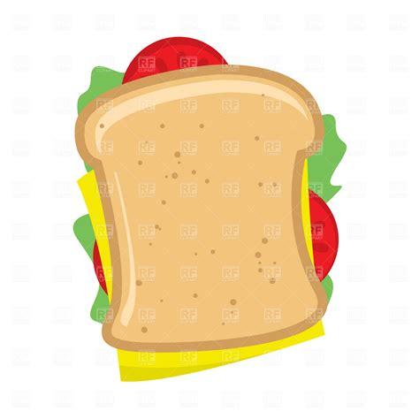 Sandwich Clip by Sandwich Clipart Clipart Suggest